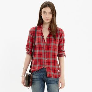 Madewell x Penfield Ravenwood Plaid Shirt XS